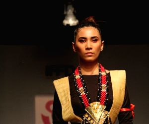 Textile, handloom dominated day three of India Runway Week