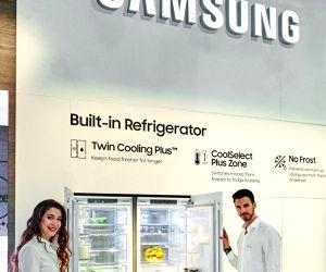 Samsung in Europe kitchen fair