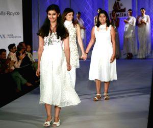 Tamana and FDCI hosted Khadi Fashion Show - Reena Dhaka