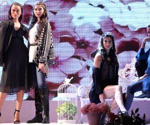 Deepika Padukone at the launch of an apparel brand