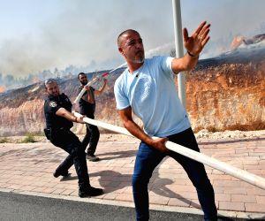 ISRAEL MODI'IN FIRE