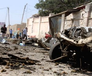 Mogadishu (Somalia): Car bomb attack