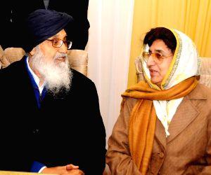 Punjab CM during a programme