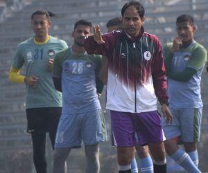 I-League - Mohun Bagan practice session