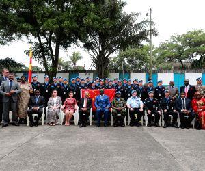 LIBERIA MONROVIA PEACEKEEPING SENT FORTH EVENT