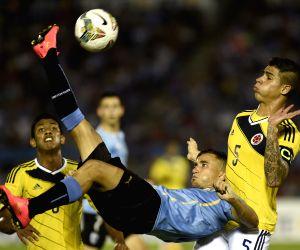 URUGUAY MONTEVIDEO SOCCER URUGUAY VS COLOMBIA