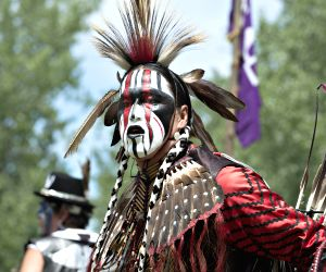34th annual Echos of a Nation Powwow near Montreal, Canada