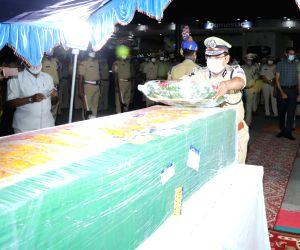 Free Photo: Mortal remains of martyred CRPF jawan reach Hyderabad
