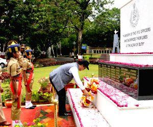 Kiren Rijiju visits Sardar Vallabhbhai Patel National Police Academy