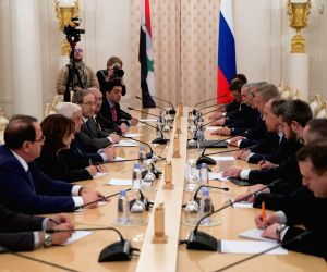 RUSSIA-MOSCOW-SYRIA-FM-MEETING