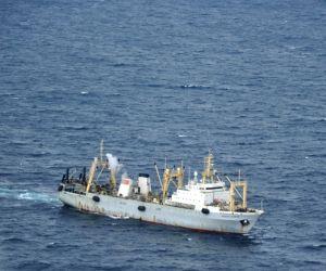 RUSSIA SEA OF OKHOTSK TRAWLER SINKING