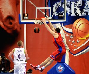 RUSSIA MOSCOW BASKETBALL EUROLEAGUE