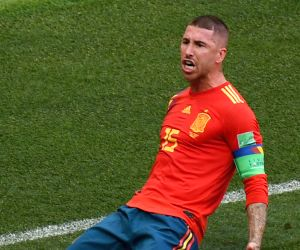 Ramos laughs off Griezmann's Ballon d'Or claims