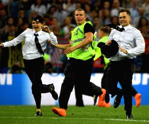 FIFA World Cup final: Pussy Riot claims responsibility for pitch invaders
