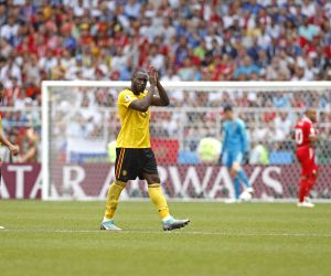 Belgium reaches World Cup knockout stage with 5-2 win over Tunisia