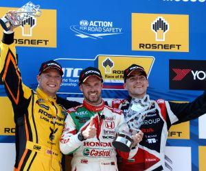RUSSIA MOSCOW FIA WTCC RACE