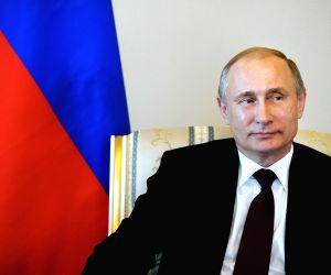 RUSSIA ST. PETERSBURG PUTIN ATAMBAYEV MEETING