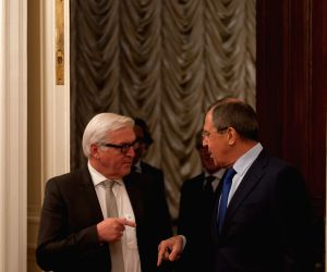 Moscow (Russia): Russian FM attend a joint press conference in Moscow
