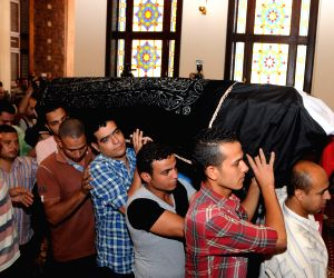EGYPT CAIRO ACTOR FUNERAL