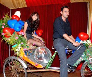 MTV VJ Cyrus Sahukar and VJ Anushka at