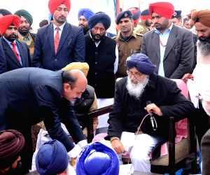 Punjab CM interacts with people during a programme