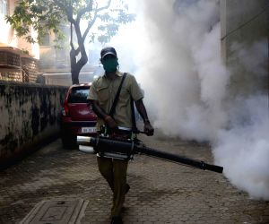 MCGM carries out fogging to control mosquitoes