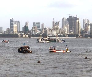 Floating restaurant capsizes off Mumbai, no casualties