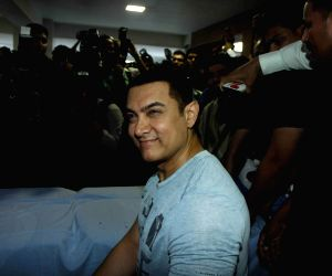 Aamir Khan speaks to media on the eve of his 50th birthday