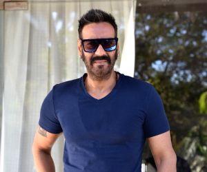 "Mumbai: Actor Ajay Devgn ahead of an interview regarding ""Total Dhamaal"" in Mumbai on Feb 8, 2019. (Photo: IANS)"