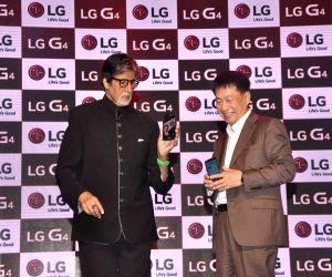 Amitabh Bachchan launches LG smartphone