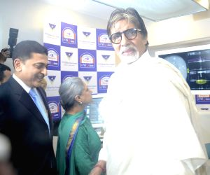 Mumbai: Amitabh Bachchan at the inauguration of an eye clinic