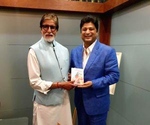 Amitabh Bachchan unveils 'Didda - The Warrior Queen of Kashmir' by Ashish Kaul
