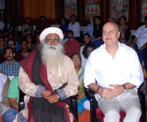 Actor Anupam Kher releases the DVD 'Acting to Awakening