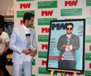 Launch of 'Man's World' magazine's latest edition -  Ayushmann Khurrana