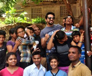 Ayushmann Khurrana celebrates 'No TV Day' with Kids