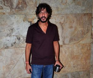 Chunky Pandey snapped at Lightbox