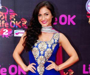 Arjun Kapoor attends Life Ok's Holi event