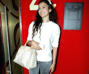 Esha Deol and Gauhar Khan spotted at PVR