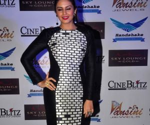 Huma Qureshi launches Cine Blitz magazine's January issue