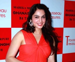 Fashion designer Maheka Mirpuri launches her Trousseau Treasures collection