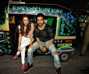 Promotion of film 'Welcome to Karachi'
