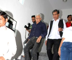 Naseeruddin Shah and filmmaker Subhash Ghai during the launch of Spice institute's new facility