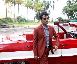 "Mumbai: Actor Nawazuddin Siddiqui during the promotions of his upcoming web series ""Sacred Games"" Season 2 in Mumbai on Aug 7, 2019. (Photo: IANS)"