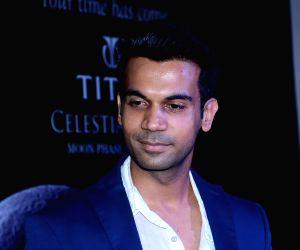Rajkumar Rao launches Titan's Celestial Time range of watches