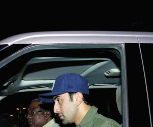 Bollywood celebrities spotted at Karan Johar's residence