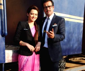 Rohit Roy at  SAB TV launches Peterson Hill serial