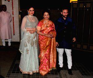 Soha Ali Khan and Kunal Khemu's wedding party