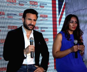 Saif Ali Khan announced as the brand ambassador for Middle East Visit Britain