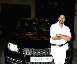 Mumbai Shreyas Talpade poses with his brand new Audi Q7