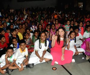 Sonalee Kulkarni, Aneel Murarka and Gurpreet Kaur Chadha celebrate Children's Day